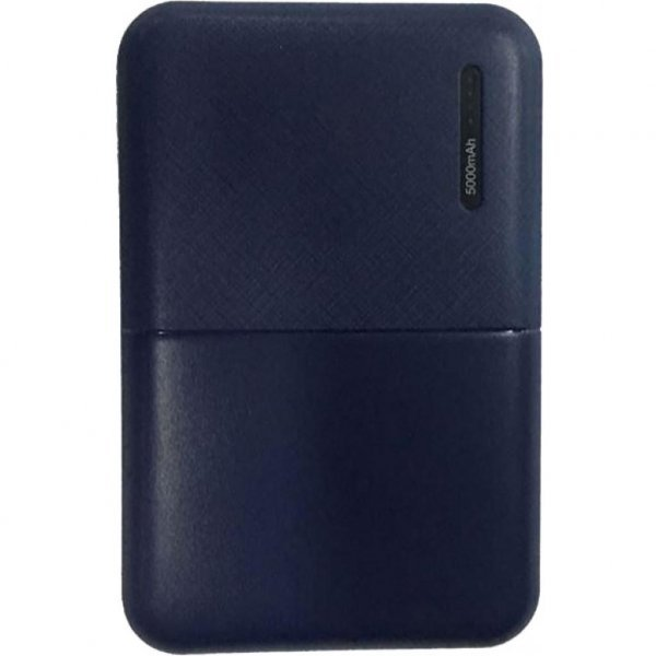 Батарея універсальна 2E 5000мА/ч, DC 5V, 2.1A, 4 LED indicator, blue (2E-PB500B-BLUE)