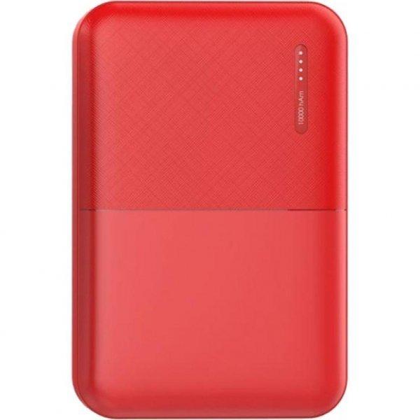 Батарея універсальна 2E 5000мА/ч, DC 5V, 2.1A, 4 LED indicator, red (2E-PB500B-RED)