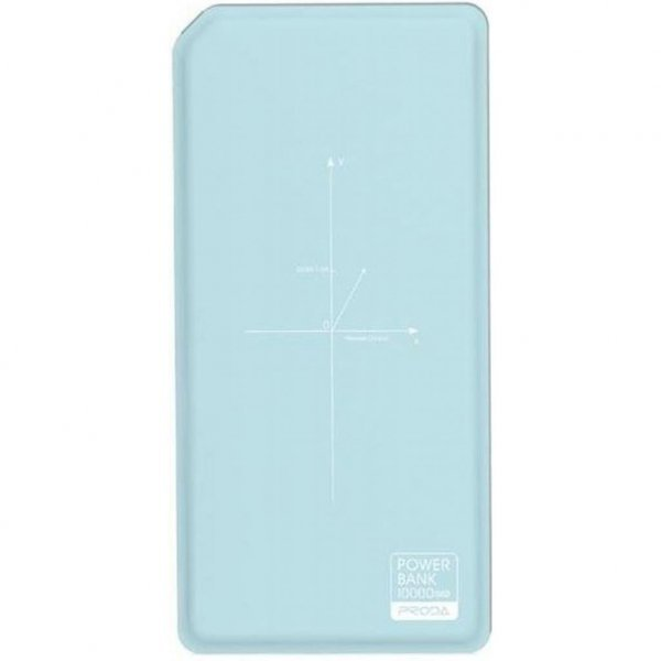 Батарея універсальна Remax Proda Chicon Wireless 10000mAh blue+white (PPP-33-BLUE+WHITE)