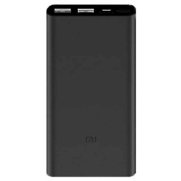 Батарея універсальна Xiaomi Mi Power Bank 2S 10000 mAh QC2.0 (PLM09ZM) Black (VXN4229CN)
