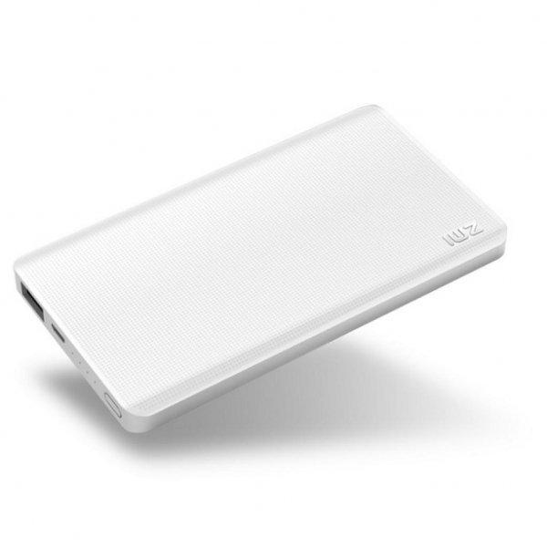Батарея універсальна ZMi Powerbank 5000mAh White QB805 (QB805 / 2827353)