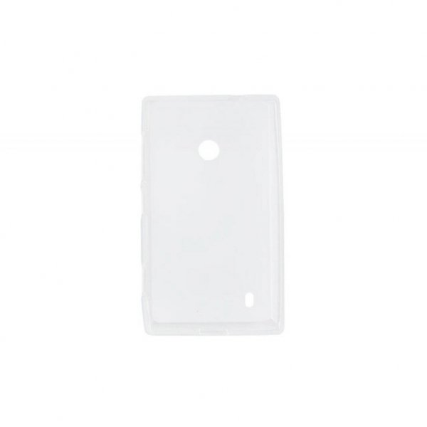 Чохол до моб. телефона для Nokia Lumia 525 (White Clear) Elastic PU Drobak (216397)