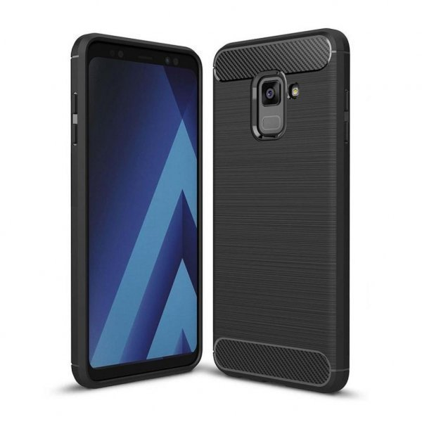Чохол до моб. телефона для SAMSUNG GalaxyA8 2018 Carbon Fiber (Black) Laudtec (LT-A73018B)