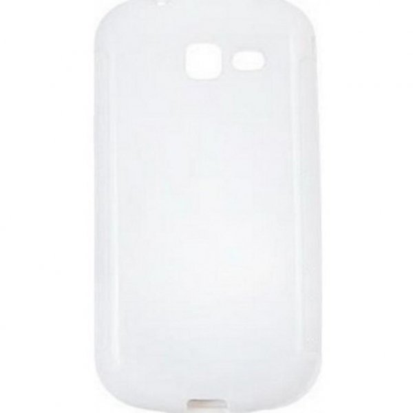Чохол до моб. телефона для Samsung Galaxy Trend S7390 (White Сlear) Elastic PU Drobak (216082)