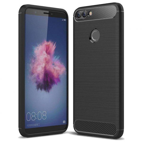 Чохол до моб. телефона Laudtec для Huawei P Smart Carbon Fiber (Black) (LT-PST)