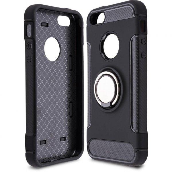 Чохол до моб. телефона Laudtec для iPhone 5/SE Ring stand (black) (LR-PCI5SE)