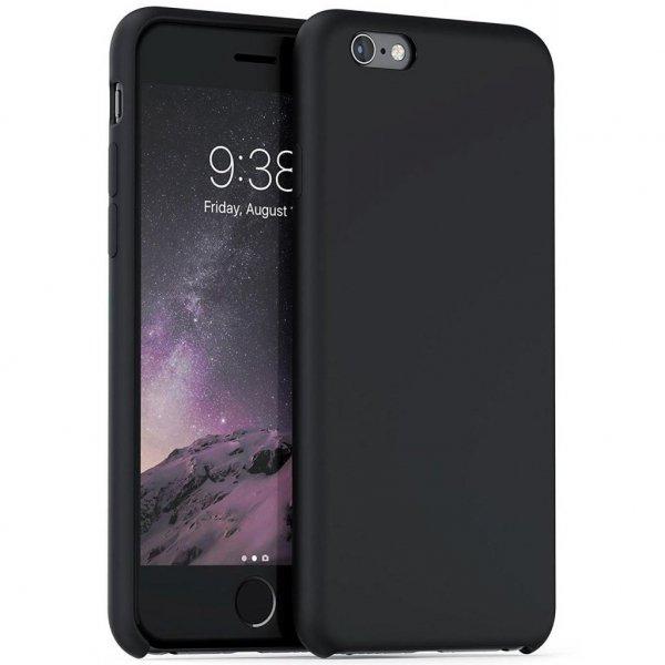 Чохол до моб. телефона Laudtec для iPhone 6/6s liquid case (black) (LT-I6LC)