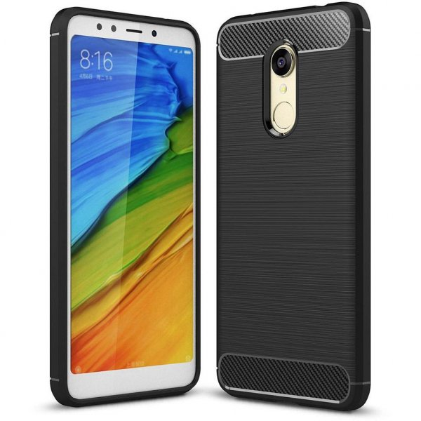 Чохол до моб. телефона Laudtec для Xiaomi Redmi 5 Carbon Fiber (Black) (LT-XR5)