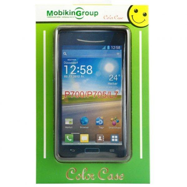 Чохол до моб. телефона Mobiking Nokia 200 Asha black/Silicon (16664)