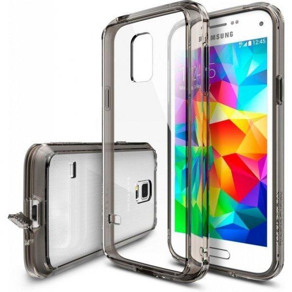 Чохол до моб. телефона Ringke Fusion для Samsung Galaxy S5 mini (Smoke Black) (550678)