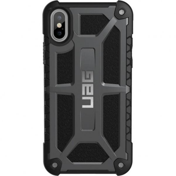 Чохол до моб. телефона Urban Armor Gear iPhone X Monarch Graphite (IPHX-M-GR)