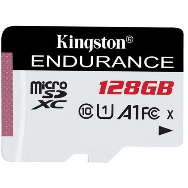 Карта пам'яті Kingston 128GB microSDXC class 10 UHS-I U1 A1 High Endurance (SDCE/128GB)