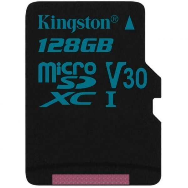Карта пам'яті Kingston 128GB microSDXC class 10 UHS-I U3 Canvas Go (SDCG2/128GB)