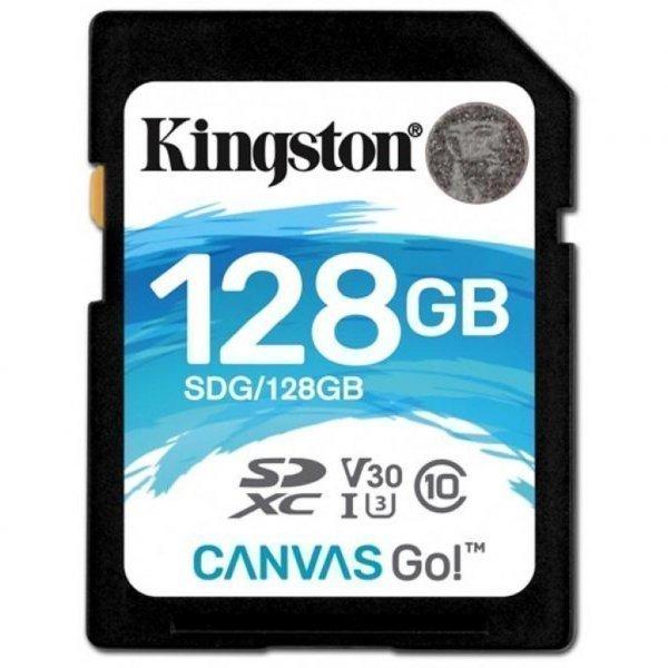 Карта пам'яті Kingston 128GB SDXC class 10 UHS-I U3 (SDG/128GB)