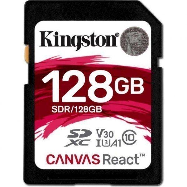 Карта пам'яті Kingston 128GB SDXC class 10 UHS-I U3 (SDR/128GB)
