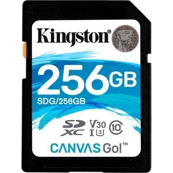 Карта пам'яті Kingston 256GB SDXC class 10 UHS-I U3 (SDG/256GB)