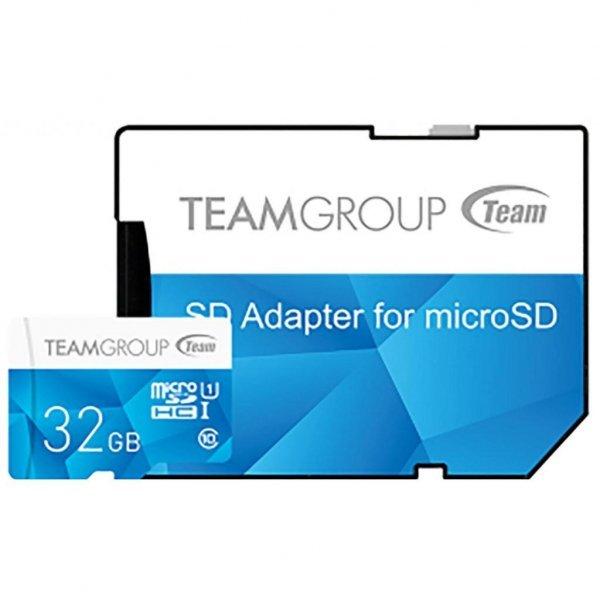 Карта пам'яті Team 32GB microSD class 10 UHS-I (TCUSDH32GUHS40)