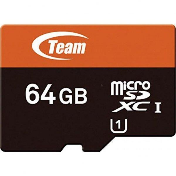 Карта пам'яті Team 64Gb microSDXC class 10 (TUSDX64GUHS03)