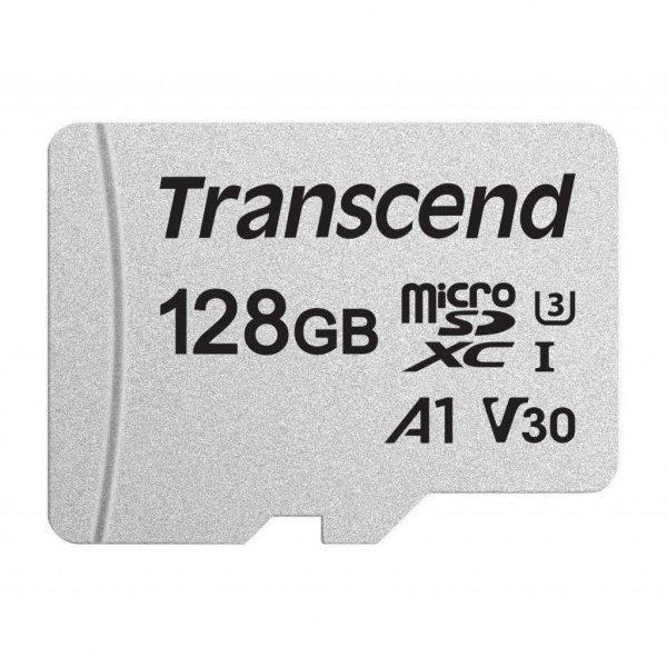 Карта пам'яті Transcend 128GB microSDXC class 10 UHS-I U3 A1 (TS128GUSD300S)