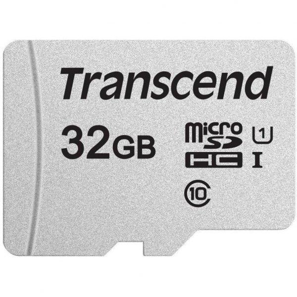 Карта пам'яті Transcend 32GB microSDHC class 10 UHS-I U1 (TS32GUSD300S)