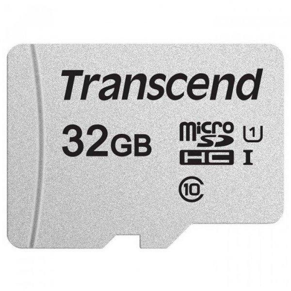 Карта пам'яті Transcend 32GB microSDHC class 10 UHS-I U1 (TS32GUSD300S-A)