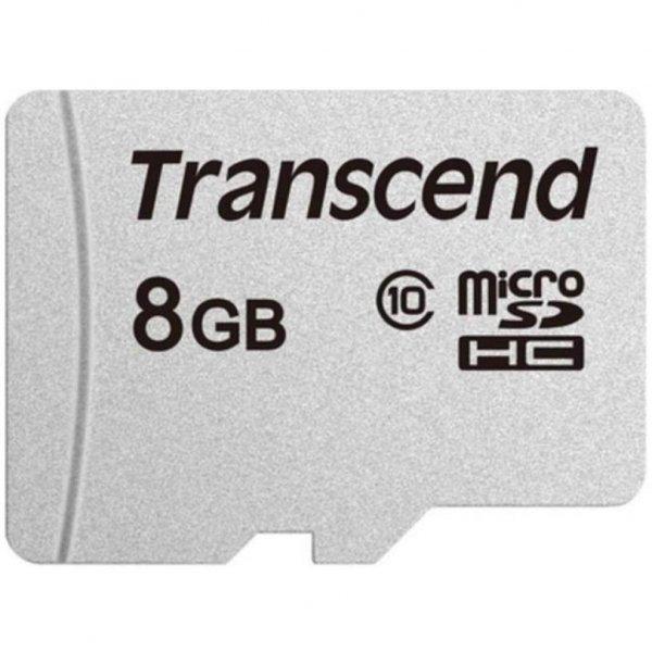 Карта пам'яті Transcend 8GB microSDHC class 10 UHS-I (TS8GUSD300S)