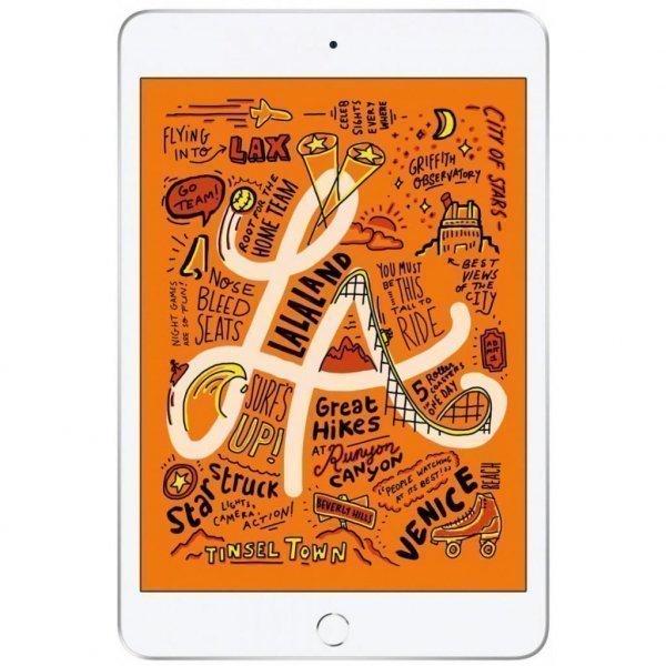 Планшет Apple A2124 iPad mini 5 Wi-Fi +4G 256GB Silver (MUXD2RK/A)
