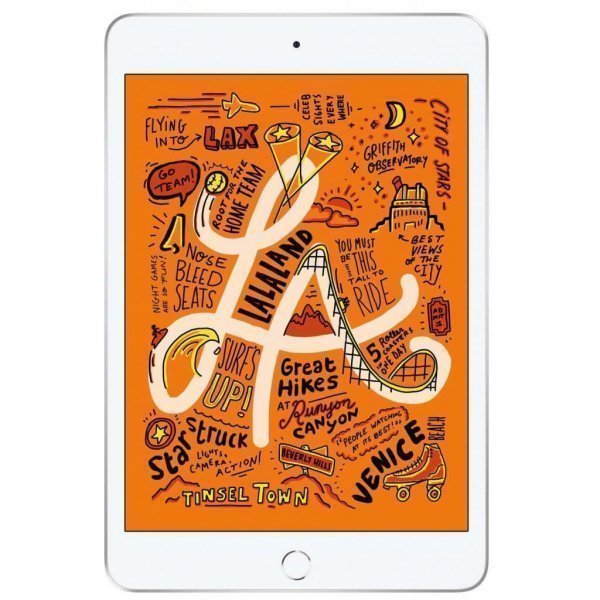 Планшет Apple A2133 iPad mini 5 Wi-Fi 64GB Silver (MUQX2RK/A)