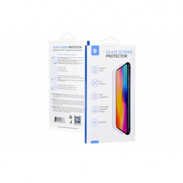 Скло захисне 2E Huawei P Smart 2019 2.5D Black border FG (2E-TGHW-PS19-25D-BB)
