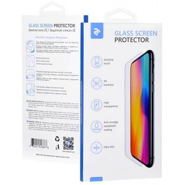 Скло захисне 2E for tablet Samsung Galaxy Tab S4 10.5 2.5D clear (2E-TGSG-TABS410.5)