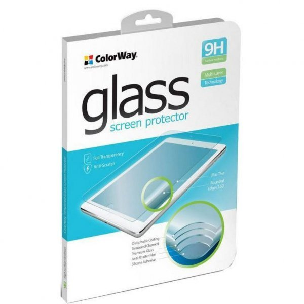 Скло захисне ColorWay for tablet Lenovo Tab 4 10 Plus (ZA2M0011UA) (CW-GTRELT410P)