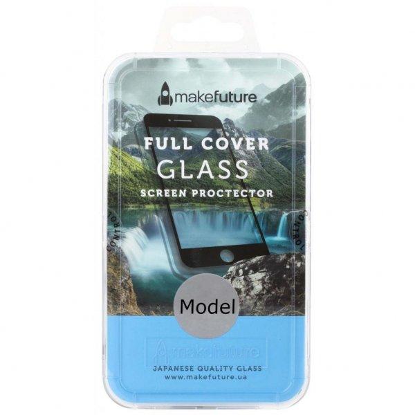 Скло захисне MakeFuture для Meizu M6 Note Black Full Cover Full Glue (MGFCFG-MM6NB)