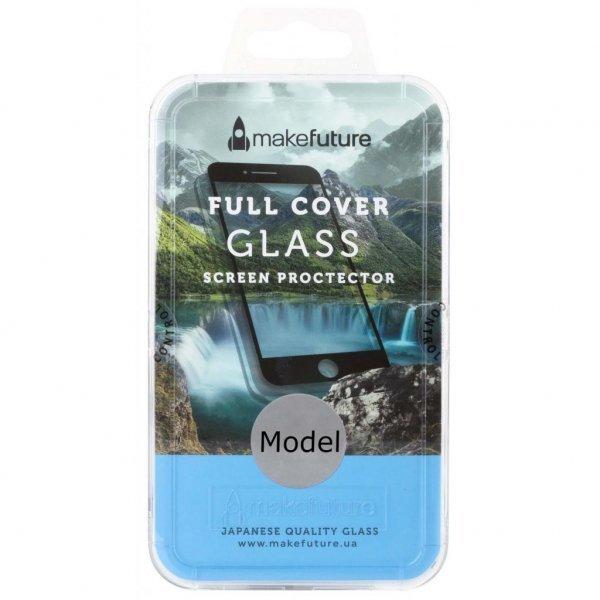Скло захисне MakeFuture для Samsung A8 2018 Black Full Cover (MGFC-SA818B)