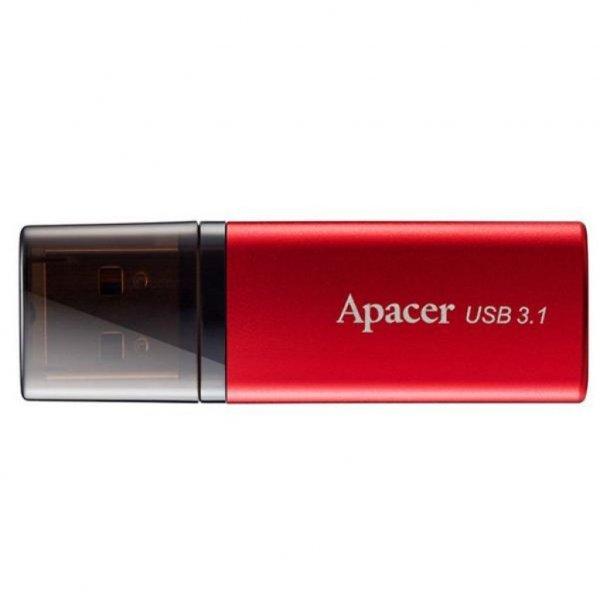 USB флеш накопичувач Apacer 32GB AH25B Red USB 3.1 Gen1 (AP32GAH25BR-1)