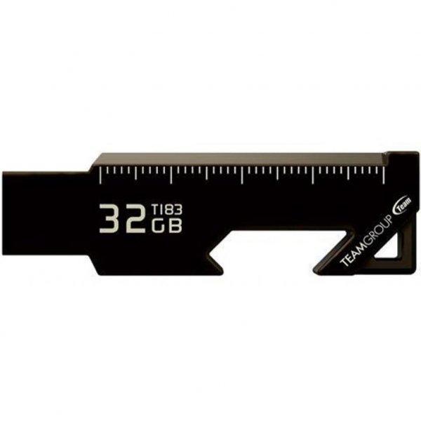 USB флеш накопичувач Team 32GB T183 Black USB 3.1 (TT183332GF01)