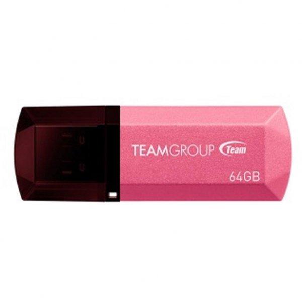 USB флеш накопичувач Team 64GB C153 Pink USB 2.0 (TC15364GK01)