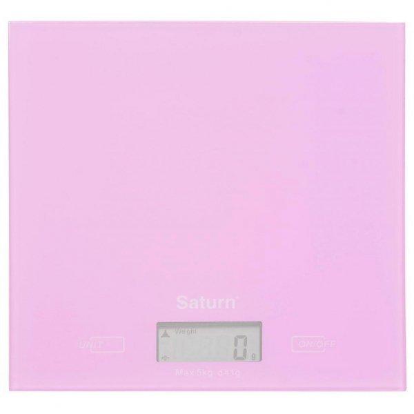 Ваги кухонні SATURN ST-KS7810 pink