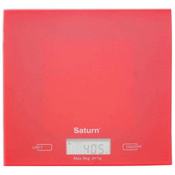 Ваги кухонні SATURN ST-KS7810 Red
