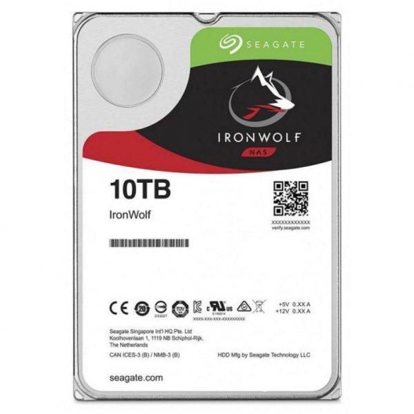 Жорсткий диск 3.5 10TB Seagate (ST10000VN0008)