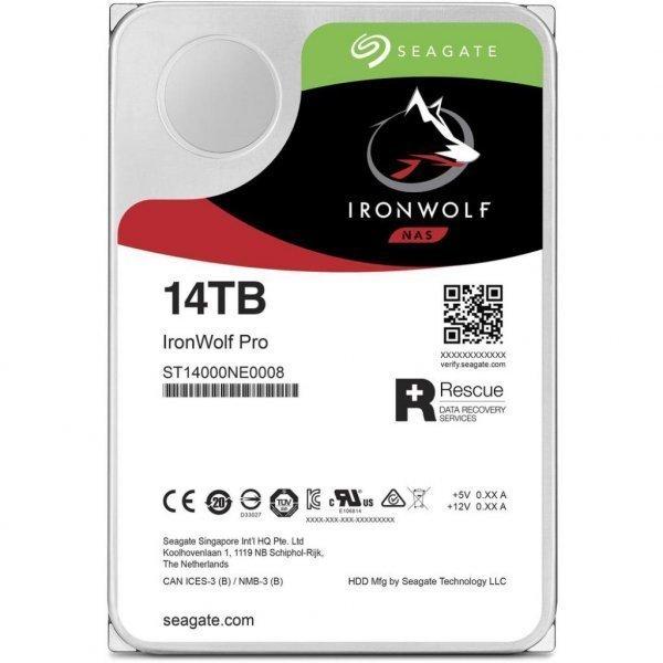 Жорсткий диск 3.5 14TB Seagate (ST14000NE0008)
