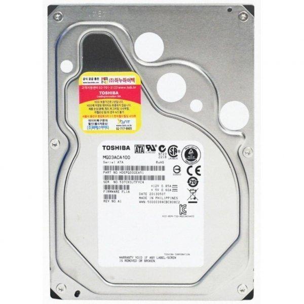 Жорсткий диск 3.5 1TB TOSHIBA (MG03ACA100)