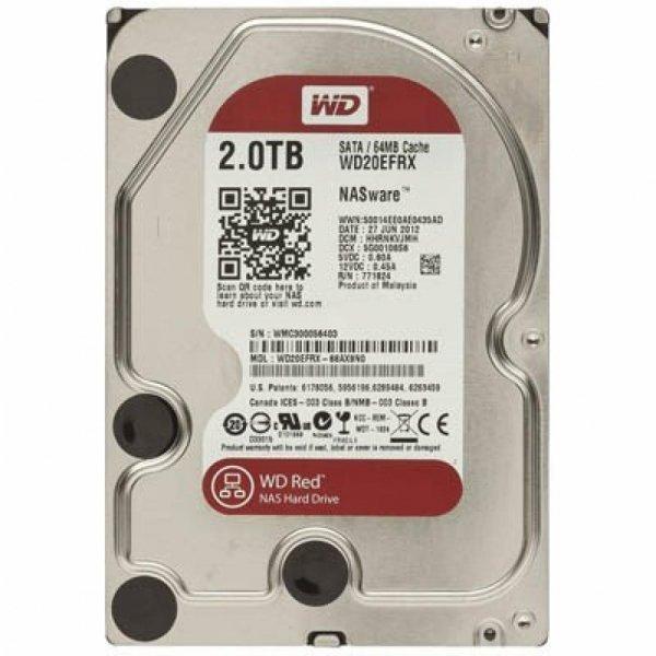 Жорсткий диск 3.5 2TB Western Digital (WD20EFRX)