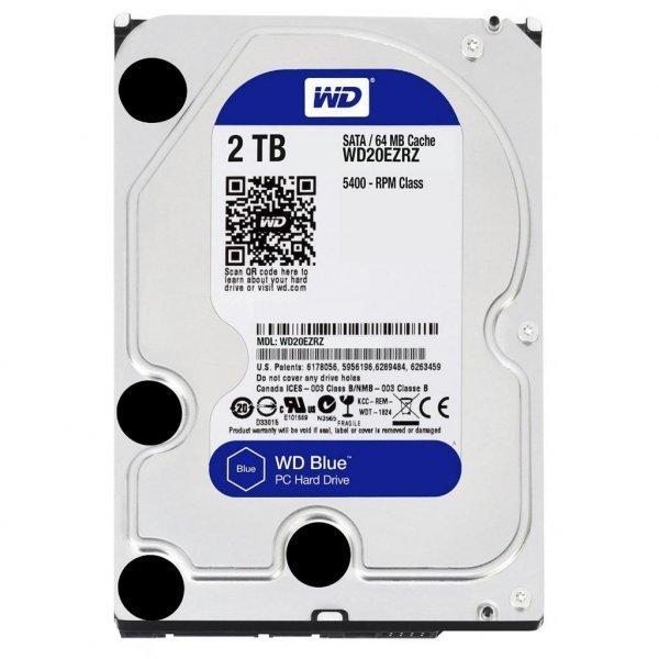 Жорсткий диск 3.5 2TB Western Digital (WD20EZRZ)