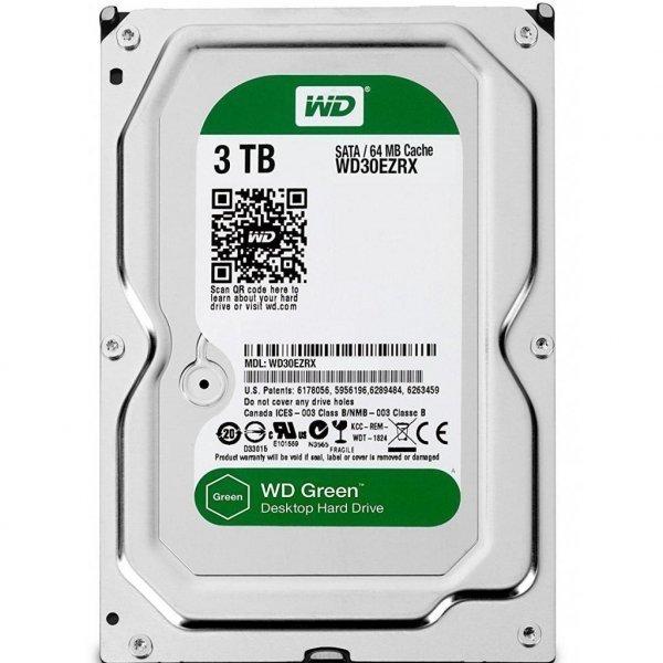 Жорсткий диск 3.5 3TB Western Digital (#WD30EZRX-FR#)