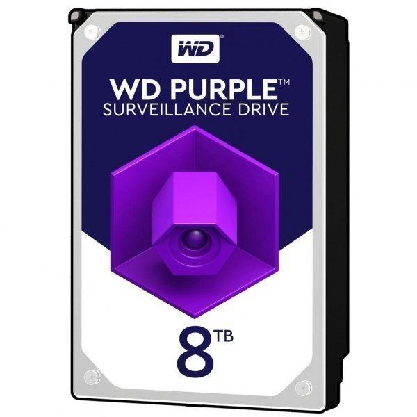 Жорсткий диск 3.5 8TB Western Digital (WD82PURZ)